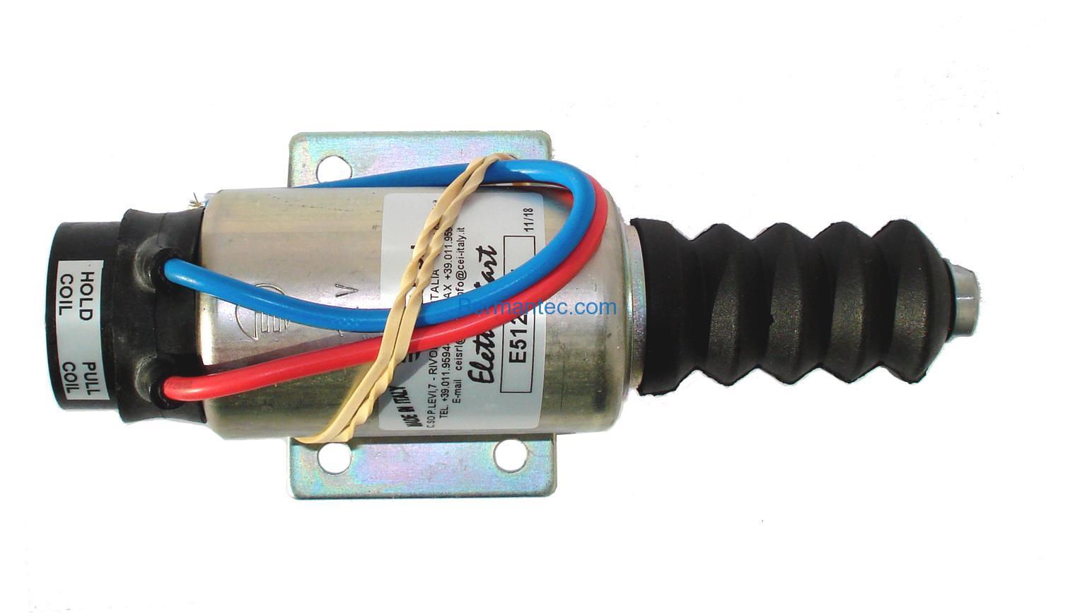 Elettrostart Solenoid, 12 V (E-512AM1F) EH-0512